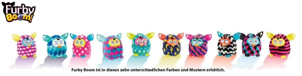 Furby Boom deutsch