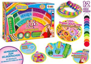 Craze Loops Rainbow Box