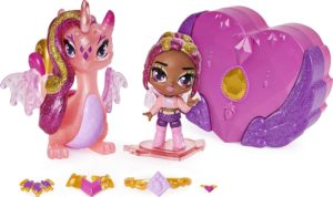 Crystal Charlotte Pixie und Draggle