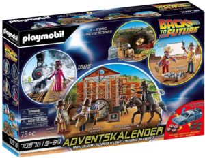 Adventskalender Playmobil Back to the Future Part III