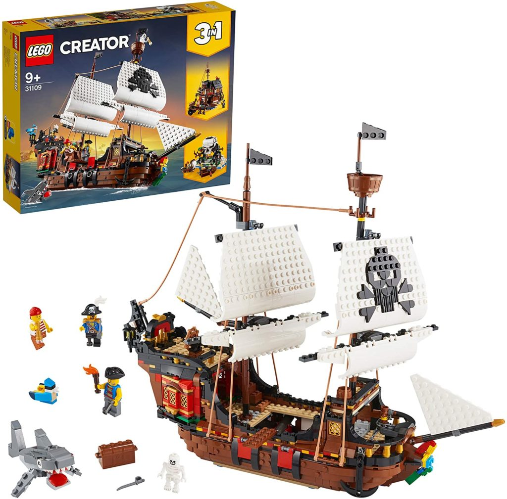 Lego 3-in-1 Piratenschiff