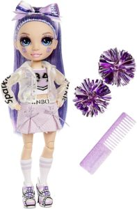 Rainbow High Cheer Violet Willow lila